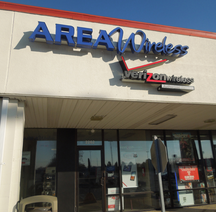 Area Wireless Super Store Michigan Street Sidney Ohio
