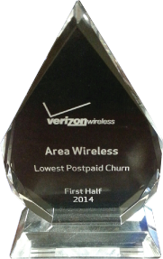 Area Wireless Verizon Wireless Award 1