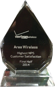 Area Wireless Verizon Wireless Award 2